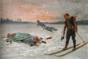 Bishop Henry killed by Lalli