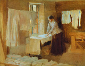 Silittäjä, harjoitelma teokseen Pesijättäriä