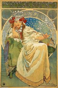 Princess Hyacinth - Alphonse Maria Mucha
