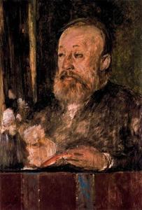 Portrait de Gottfried Keller