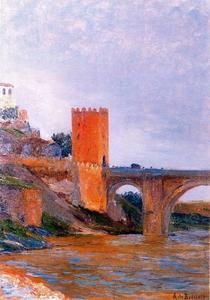 El puente de Alcántara en Toledo