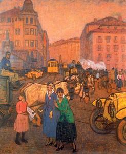 Calle de la estación. El Arenal