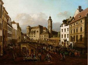 Die Freyung in Wien, Ansicht von Südosten