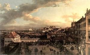 View of Warsaw from the Royal Palace