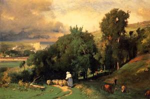 Hillside at Etretet