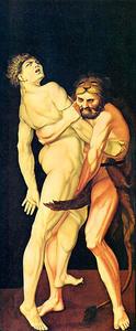 Herkules und Antaus