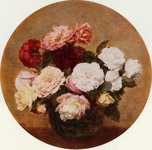 A Large Bouquet of Roses