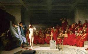 Phyrne before the Areopagus