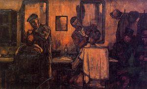 Barbería de pueblo
