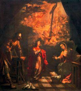 Visión de la Cruz en el taller de Nazaret