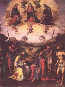 Crowning of the Madonna with Saints