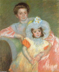 Reine Lefèbvre and Margot