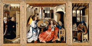Wikioo.org - The Encyclopedia of Fine Arts - Artist, Painter  Robert Campin (Master Of Flemalle)