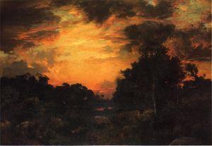 Sunset on Long Island