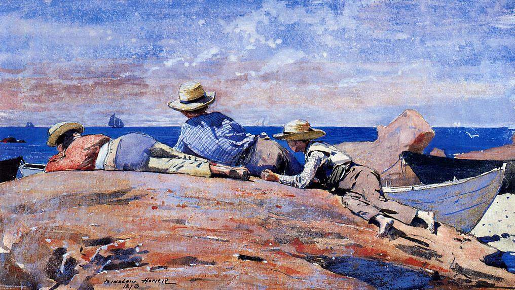 an introduction to the life of winslow homer Winslow homer quotes american - artist february 24 , 1836 - september 29 , 1910 only once in the last thirty years have i made a duplicate, and that was a watercolor from my oil picture now owned by the layton art gallery, milwaukee, called 'hark the lark.
