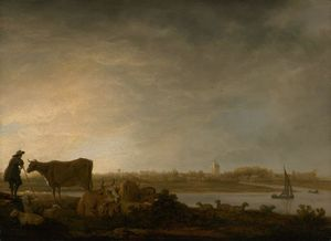 Wikioo.org - The Encyclopedia of Fine Arts - Artist, Painter  Aelbert Jacobsz Cuyp