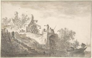 Landscape with Figures 2