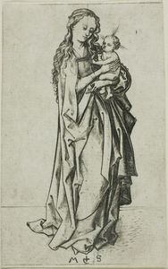 Small Standing Madonna and Child