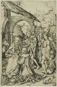 The Adoation of the Magi