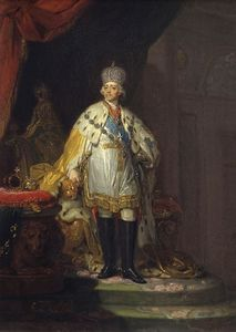 Portrait of Paul I, Emperor of Russia 1
