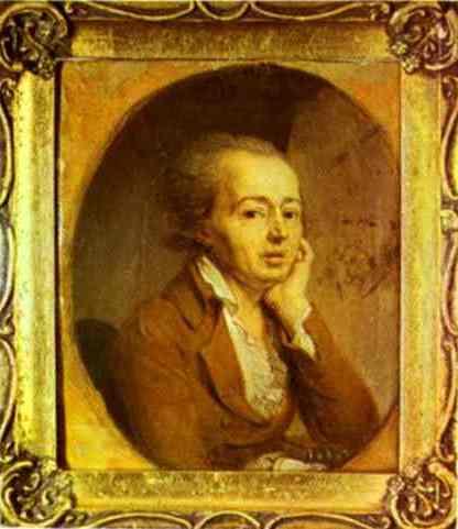 Portrait of the Artist Dmitry Levitzky