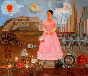 Self-Portrait on the Bordeline Between Mexico and the United States