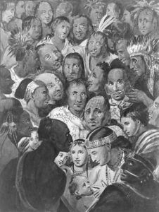 Tableau of Indian Faces