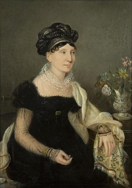 Wikioo.org - The Encyclopedia of Fine Arts - Painting, Artwork by Rolinda Sharples - Madame Catalani
