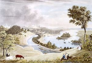 Richmond from the Hill above the Waterworks