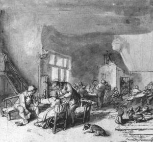 Interior Of An Inn