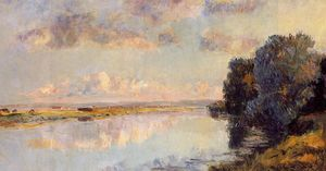 The Banks of the Seine at Maisons-Lafitte