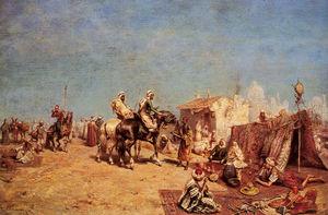 An Arab Encampment 1