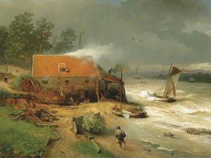 The boat wharf