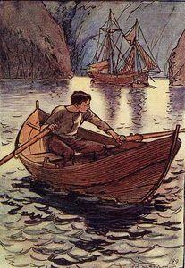 Y ese buque, lo sabía, era la goleta pirata