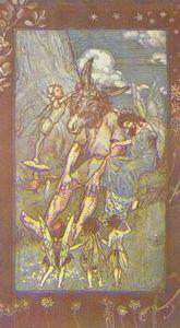 Titania y Peasebottom