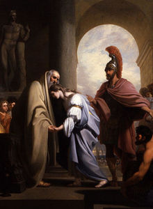 Chryseis Returned to her Father Chryses
