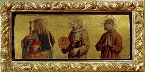 I SS. Giacomo Maggiore, Bernardino da Siena, Niccodemo