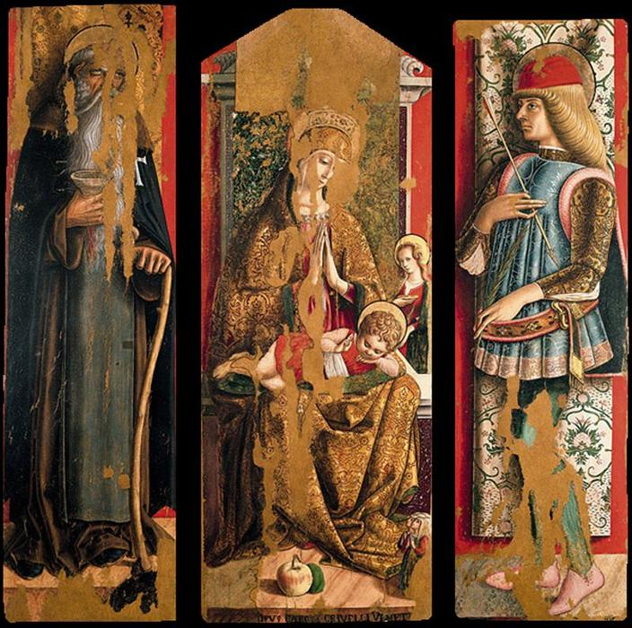the life and art of carlo crivelli an italian painter How can the answer be improved.