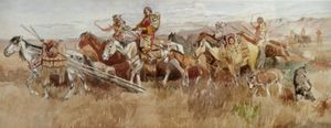 Indians on the Prarie