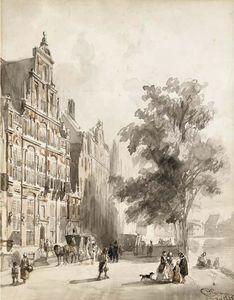 'Het Huis met de Hoofden' on the Keizersgracht, Amsterdam