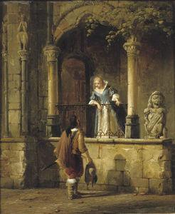 An amorous encounter