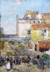 Marché, St. Pierre, Montmartre