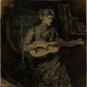 Anna Weir With Guitar