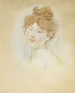 Tête de jeune fille rousse (Jeanne-Marie)