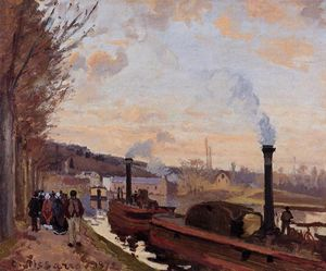 The Seine at Port Marly