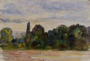 Trees, Eragny
