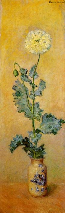 Wikioo.org - The Encyclopedia of Fine Arts - Painting, Artwork by Claude Monet - White Poppy
