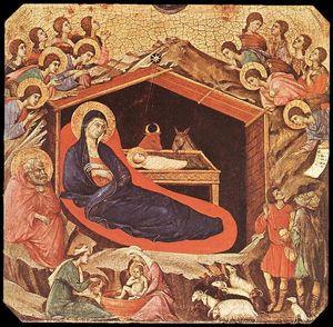 La Maestà . La Natividad