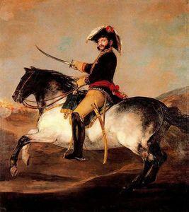 El General Don José de Palafox a caballo