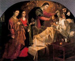 Curación milagrosa del beato Reginaldo de Orleans